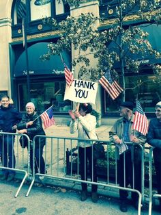 Gotham Motorcycles had the pleasure of attending the 2015 NYC Veterans Day Parade. This is a photo of one of the attendees. Love the sign!   #VeteransDay #NYC #ThankYou