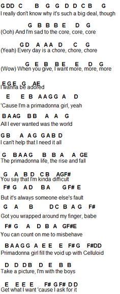 Flute Sheet Music: Marina And The Diamonds