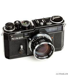 Nikon: Nikon SP black camera - Camera, Acmera accessories, and so on Cameras Nikon, Nikon Digital Camera, Old Cameras, Nikon Dslr, Digital Slr, Rangefinder Camera, Leica Camera, Camera Lens, Canon Lens