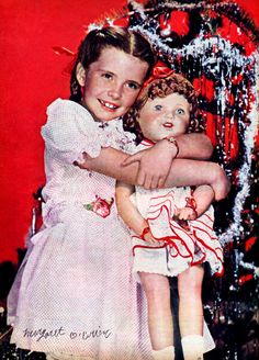 Margret O'Brien -- vintage christmas in hollywood - Google Search