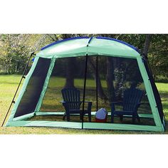 Texsport Wayford Screen Arbor   $67.36 Shield your picnic area from the sun and flying insects . Screen Tent, Screen House, Patio Canopy, Canopy Outdoor, Camping Life, Family Camping, Camping Ideas, Fibreglass Roof, Cool Tents