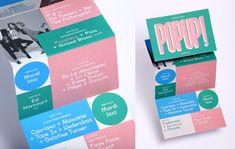 Graphic design identity for Pop Up!   Playground Paris on Behance