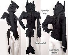 toothless hoodie pattern - Google Search