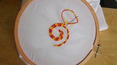 Hand Embroidery: Chain Stitch (Alternative) - YouTube