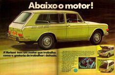 Anúncio Variant 1600 - Volkswagen - 1970