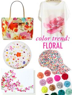 Color Trend: Florals // Twin Stripe