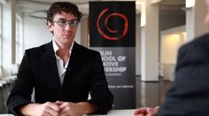 Renowned innovator and former hacker (legal) Pablos Holman talks to Berlin School President Michael Conrad on why hackers can make the best employees in creative companies, what the future holds with computer technology and what he would personally do as a head of a creative organization.