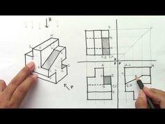 Autocad Isometric Drawing, Isometric Art, Architecture Drawing Art, Architecture Design, Basic Geometry, Geometric Drawing, Cad Drawing, Technical Drawing, Civil Engineering