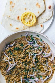 Ottolenghi's Crushed Puy Lentils with Tahini and Cumin