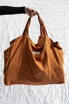 Carry your market finds in our perfect Ochre French Linen Carry all bag! My Style Bags, Crochet Market Bag, Diy Tote Bag, Carry All Bag, Cute Backpacks, Linen Bag, Fabric Bags, Reusable Bags, Cotton Bag