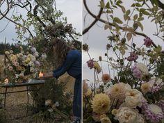 Autumnal wedding arch | Aesme Flowers