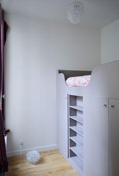 chambre d 39 enfant on pinterest mezzanine kid desk and desks. Black Bedroom Furniture Sets. Home Design Ideas