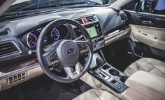 Subaru Outback (2015) Interior