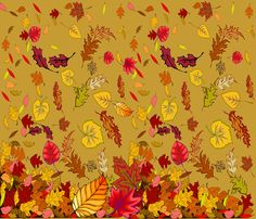 FALL/THANKSGIVING TABLECLOTH/CHEATER QUILT fabric by bluevelvet on Spoonflower - custom fabric