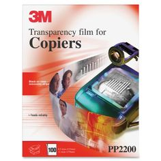 #manythings Transparency Film for #Laser #Copiers