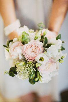 Image by David Jenkins. Wedding bouquet. white bouquet. soft pink bouquet