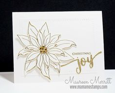 How to use line stamps if you don't color - Tip #1 | Mama Mo Stamps | Bloglovin'