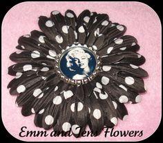 Marilyn Monroe Inspired Flower Hair Clip4 by Emmandjensflowers, $5.00