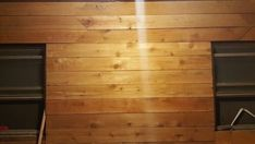 Cedar wall wash room. Cedar fence pickets - Modern Design | 1000#cedar #design #fence #modern #pickets #room #wall #wash Cedar Fence Pickets, Cedar Walls, Wash Room, Small Gardens, Indoor Garden, Amazing Gardens, Modern Design, Garage Doors, Outdoor Decor