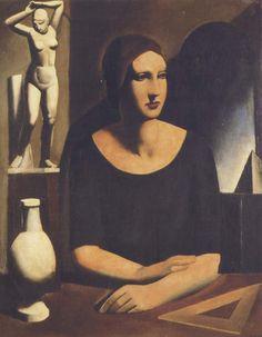 Mario Sironi: L'Élève (1924)