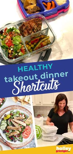 Wondering how to feed your family a nutritious meal when you're always on the go? From my favorite takeout meals to the best uses for leftovers, these clever ideas will give you the confidence you need to serve healthy takeout dinners to your busy family. | Holley Grainger - Cleverful Living Healthy Food Choices, Healthy Meals For Kids, Healthy Dinner Recipes, Kids Meals, Quick Weeknight Dinners, Quick Meals, Easy Dinners, Family Meals, Family Recipes