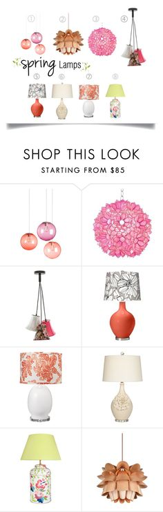 """""""Spring. Lamps. Pendants."""" by theartbug-home on Polyvore featuring interior, interiors, interior design, home, home decor, interior decorating, Fatboy, Worlds Away, Jamie Young and Universal Lighting and Decor"""
