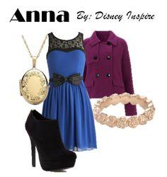 My Disney Inspire: Anna from Frozen