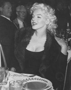Marilyn Monroe in 1955.