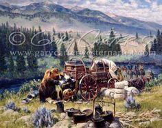 Gary Carter. Gary Carter, Mountain Man, Western Art, Westerns, Cool Art, Bear, Artists, House Styles, Painting