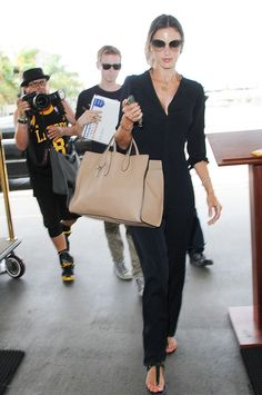 The Best Celebrity Airport Style of 2014: Victoria Beckham, Amal Clooney, Alessandra Ambrosio, and More