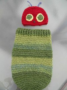 Very Hungry Caterpillar Snug Sack  I love the colors in this one.