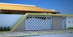 22-Frente de casas com muros exemplos bonitos