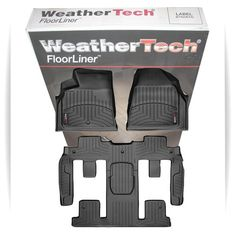 Full Set WeatherTech All Weather Custom Fit Floor Mat Liner for 20092014 Chevy Traverse *** Click image to review more details.