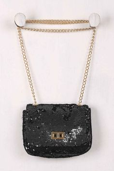 Shimmery Sequin Crossbody Mini Bag Price : $40.99. #instacraze #fashion #Bag #Womenbag