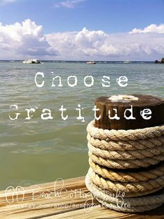 choose gratitude | René Marie Photography | Beach Cottage Life | https://www.facebook.com/BeachCottageLifePhotography