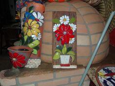 mosaico na telha