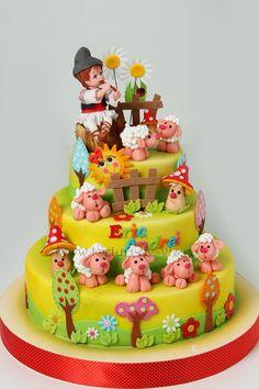 Torturi - Viorica's cakes: Micul ciobanas