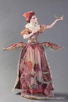 куклы из фарфора Эллы Ким
