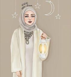 girly m ramadan Girly M, Girly Girl, Cute Girl Drawing, Woman Drawing, Hijabi Girl, Girl Hijab, Muslim Girls, Muslim Women, Tmblr Girl
