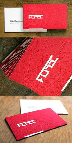Boldly Coloured Bright Business Card | Business Cards | The Design Inspiration