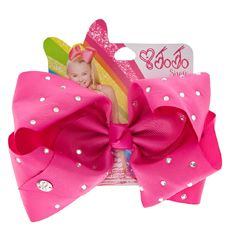 Shop Claire's for the latest trends in jewelry & accessories for girls, teens, & tweens. Find must-have hair accessories, stylish beauty products & more. Jojo Siwa Bows, Jojo Bows, Types Of Bows, Claire's Accessories, Birthday Wishes For Myself, Pink Orchids, Fancy Hairstyles, Cheer Bows, Hair Clips