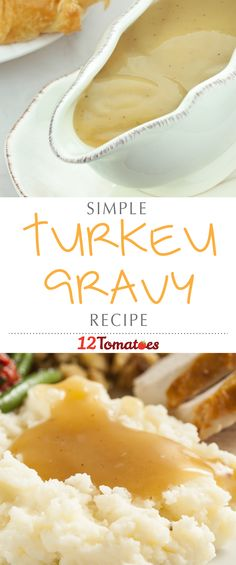 The Perfect Turkey Gravy We've got an easy-peasy gravy recipe to lighten your load and make the meal production a little less crazy regardless of whether you're using turkey drippings or not! Turkey Recipes, Fall Recipes, Holiday Recipes, Christmas Desserts, Pumpkin Recipes, Dinner Recipes, Turkey Dishes, Holiday Meals, Brunch Recipes