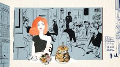 A Sketchbook of Paris from Illustrator Jason Brooks