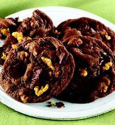 double chocolate chunk mint cookies recipe for double chocolate chunk ...