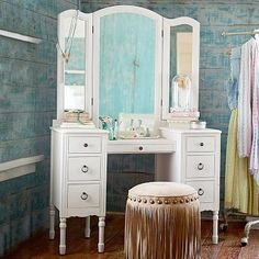 Junk Gypsy Antique Vanity $1,199 Visit bit.ly/junkgypsycollection Or call 1-866-472-4001 to pre-order this item.