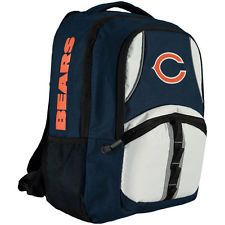 NFL CHICAGO BEARS Captain Backpack Licensed NAVY ORANGE WHITE New with Tags 62d06fa9d1b1