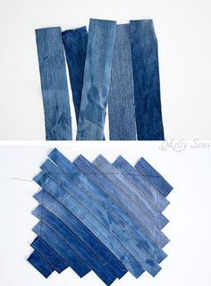 Upcycled Denim Fold Over Clutch Tutorial - Melly Sews - Upcycled Denim Fold Over Clutch Tutorial – Melly Sews Step 1 – Upcycled Denim Cross Body Bag Tutorial – Great Way to Use Denim Scraps – Melly Sews Artisanats Denim, Denim Purse, Clutch Tutorial, Denim Bag Tutorial, Denim Scraps, Jean Crafts, Denim Ideas, Old Jeans, Denim Bags From Jeans