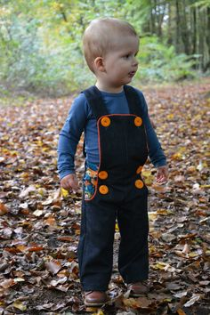 A Charles for the autumn..., Hi, I made a new Charles pants for my son Finn.... I chose size 2 years with a button elastic..... in dark denim combined with a nice cotton. You ca...  #Charles'pants #contest2015 #plain&simple