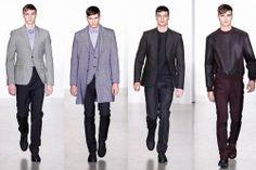 Calvin Klein Collection - Pasarela Milán Hombre Otoño Invierno 2013/2014