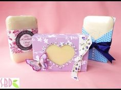 how to make a soap gift bag - YouTube